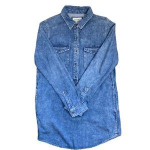 Forever 21 Denim Dress Camisole